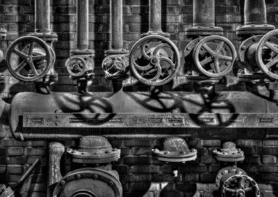 Druckluftunterverteiler Zeche Zollverein